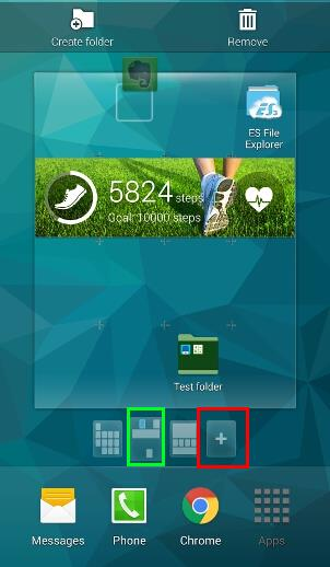 how_to_manage_Galaxy_s5_home_screen_panels_pages_2_add_page_apps