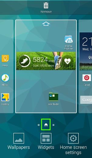 how_to_manage_Galaxy_s5_home_screen_panels_pages_9_home_screen_assigned