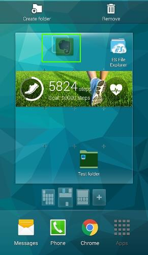 how_to_use_app_folders_in_galaxy_s5_home_screen_16_remove_app_from_app_folder_drop
