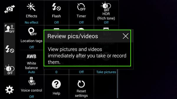 how_to_use_galaxy_s5_camera_to take_photo_continuously_without_reviewing_2_turn_on_off_review_photos