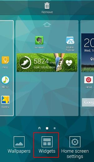 how_to_add_widgets_to_galaxy_s5_home_screen_3_widgets