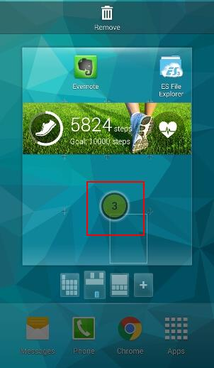 how_to_add_widgets_to_galaxy_s5_home_screen_5_position_in_home_screen