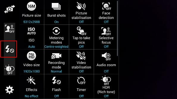 how_to_customize_Galaxy_s5_camera_shortcuts_added
