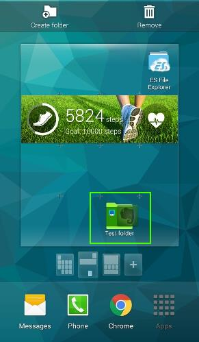 how_to_use_app_folders_in_galaxy_s5_home_screen_10_drop_app_to_folder_from_home_screen